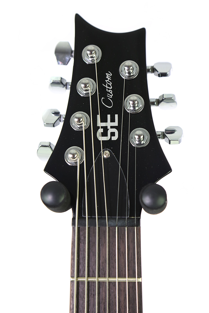 Brand New PRS SE Custom 24 7-String Black Electric Guitar - New York ...
