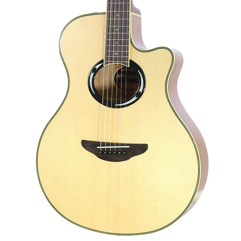 Brand new yamaha apx500iii natural acoustic electric for Yamaha guitar brands