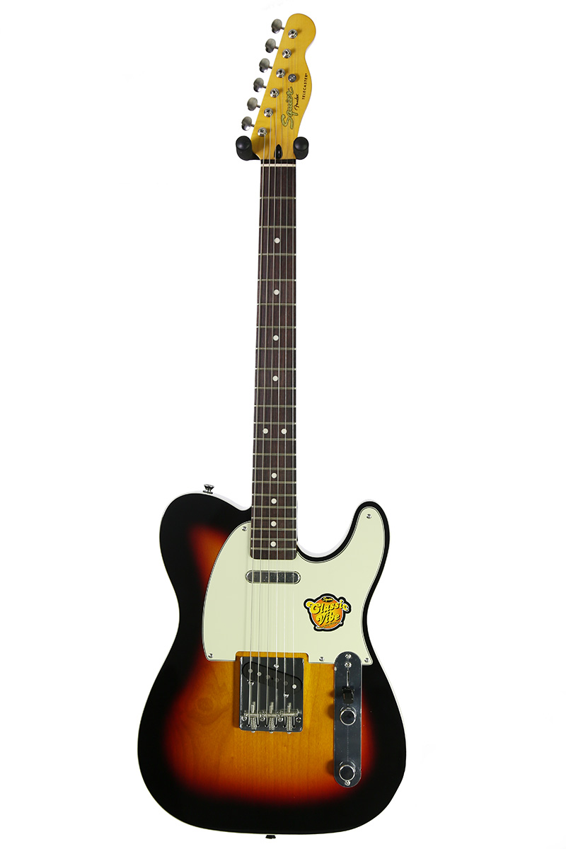 brand new fender squier classic vibe telecaster custom 3 tone sunburst electric guitar new. Black Bedroom Furniture Sets. Home Design Ideas