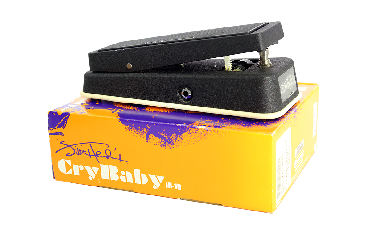 Used JH1D Jimi Hendrix Signature Cry Baby Wah Pedal