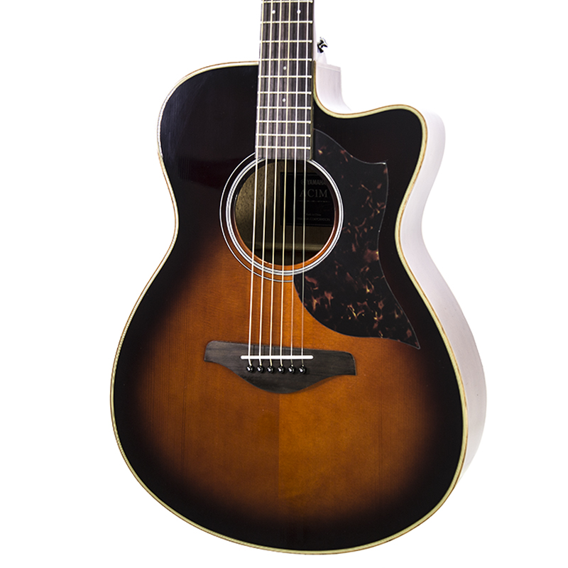 brand new yamaha ac1m tobacco brown sunburst acoustic electric guitar new york music emporium. Black Bedroom Furniture Sets. Home Design Ideas