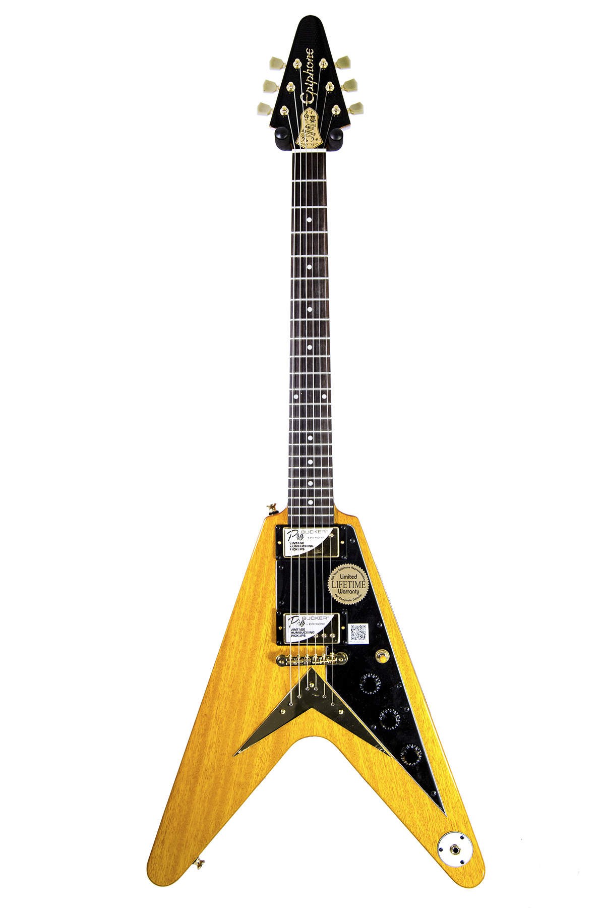 used epiphone limited edition joe bonamassa 1958 amos korina flying v 2236 new york music. Black Bedroom Furniture Sets. Home Design Ideas