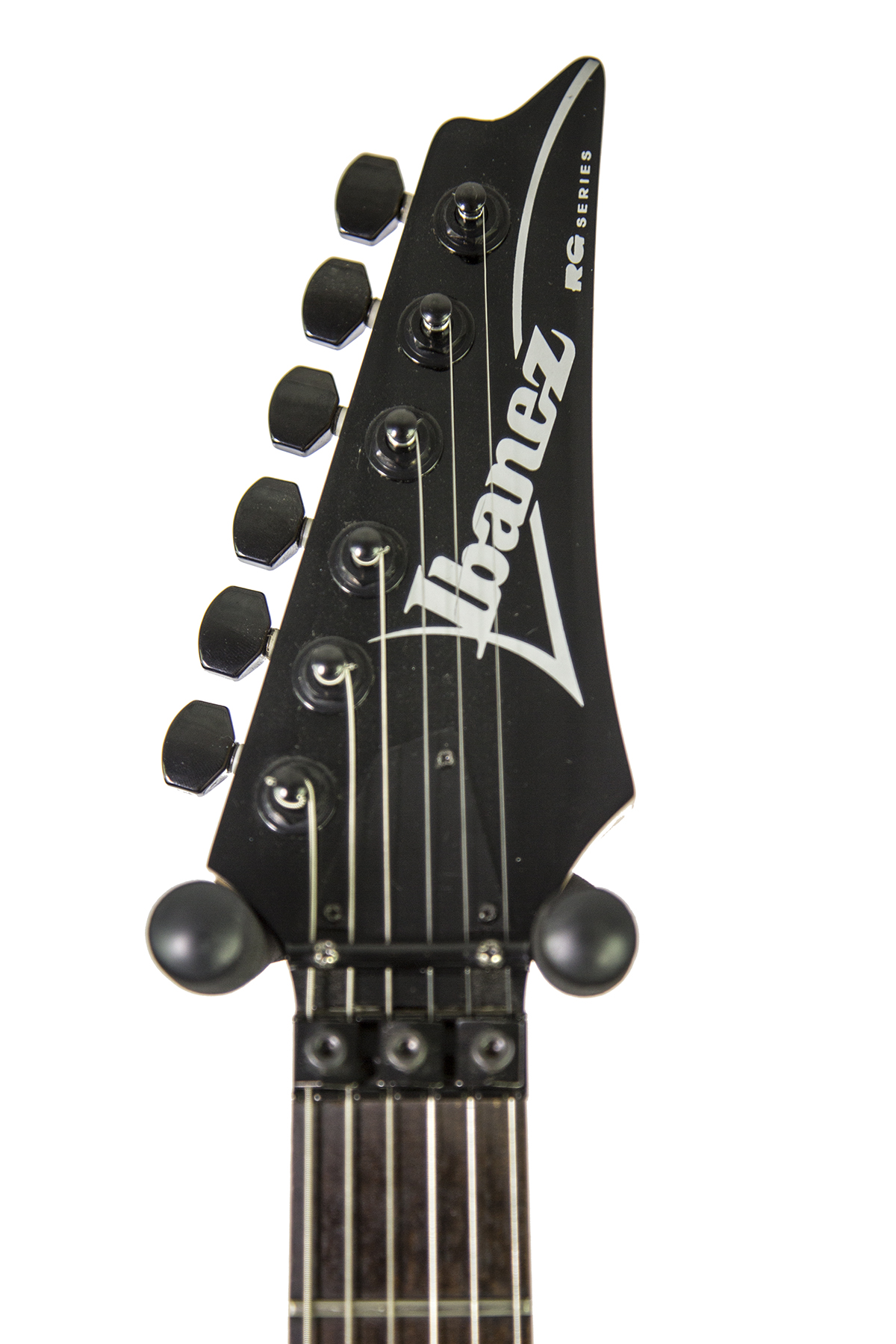 Used Ibanez RG220B Black Electric Guitar - New York Music Emporium