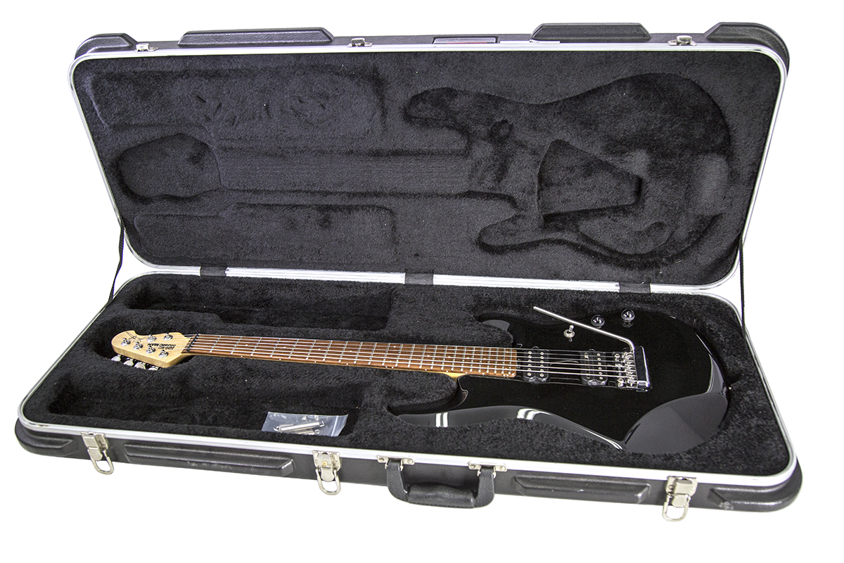 Used Ernie Ball Music Man JP6 John Petrucci Signature Black Electric ...