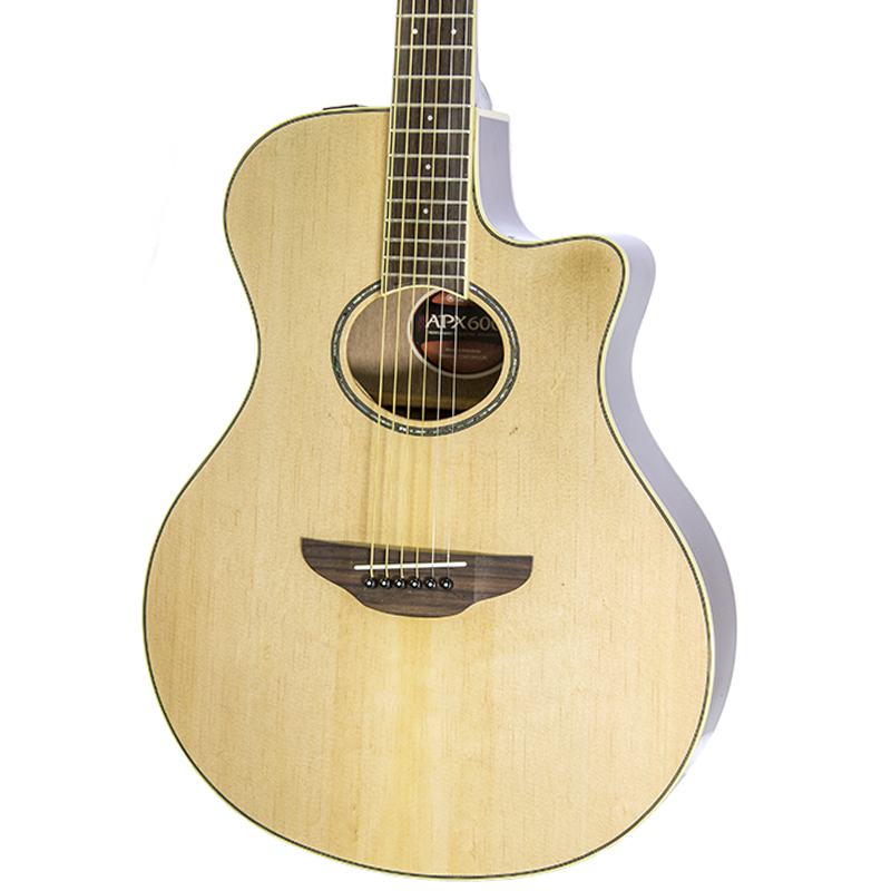 brand new yamaha apx600 natural acoustic electric guitar new york music emporium. Black Bedroom Furniture Sets. Home Design Ideas