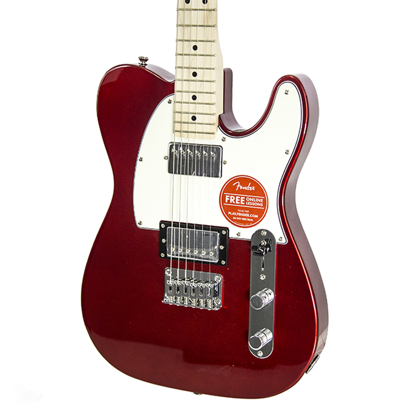 brand new fender squier contemporary telecaster hh dark metallic red electric guitar new york. Black Bedroom Furniture Sets. Home Design Ideas
