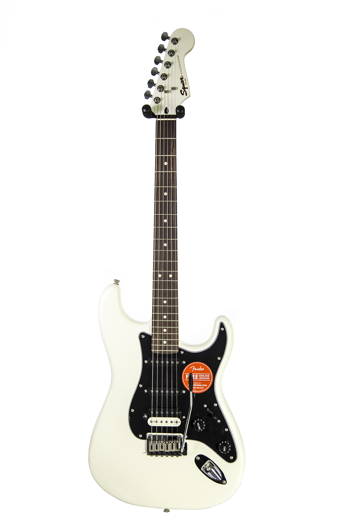 brand new fender squier contemporary stratocaster hss pearl white electric guitar new york. Black Bedroom Furniture Sets. Home Design Ideas