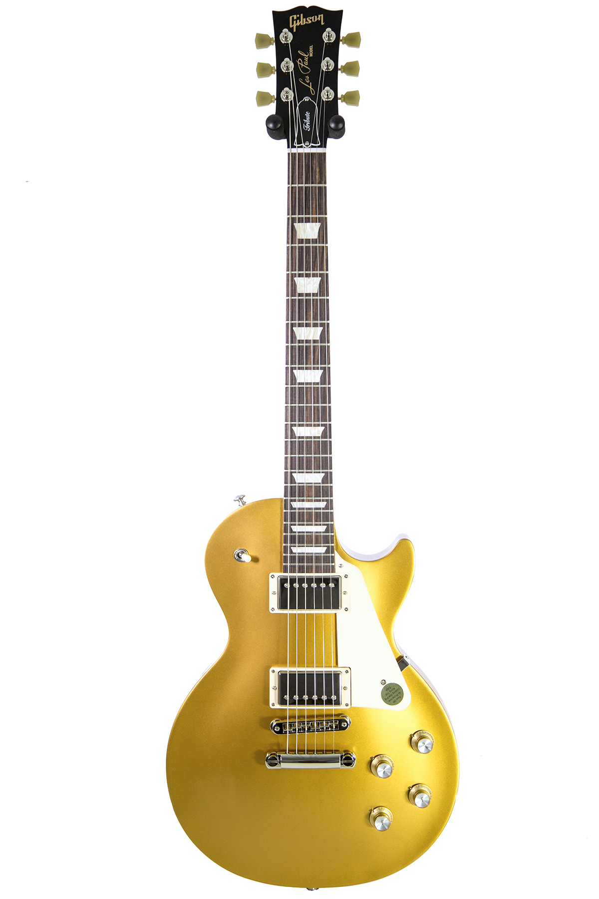 used 2018 gibson les paul tribute 2018 satin gold electric guitar new york music emporium. Black Bedroom Furniture Sets. Home Design Ideas