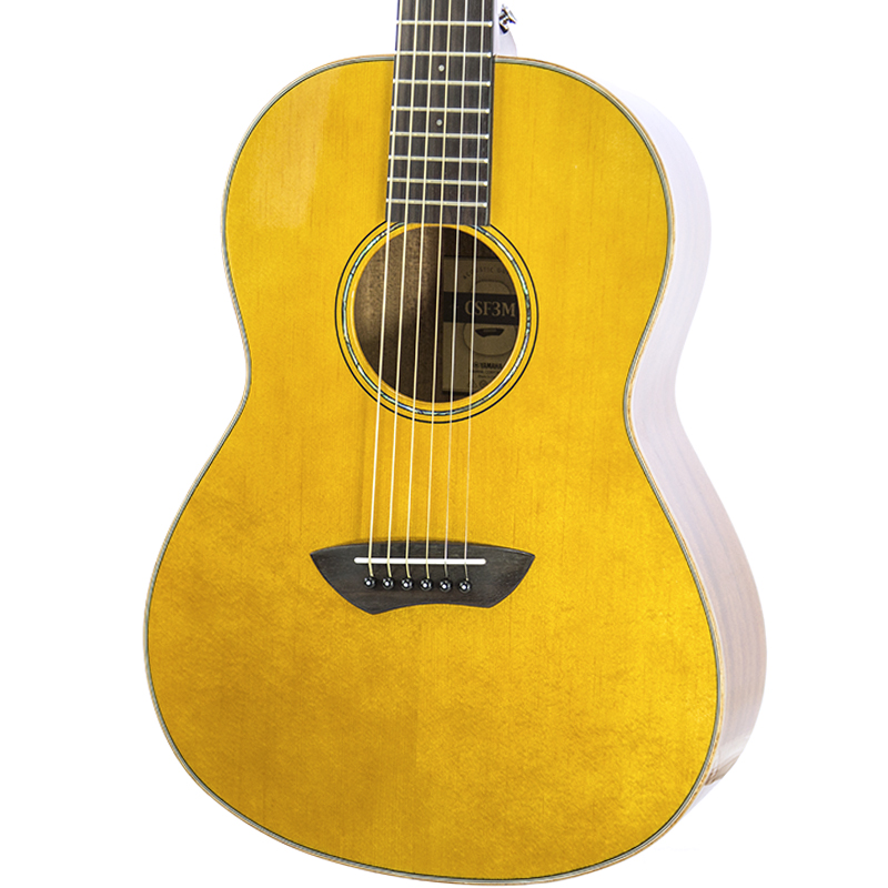 brand new yamaha csf3m vintage natural acoustic electric guitar new york music emporium. Black Bedroom Furniture Sets. Home Design Ideas