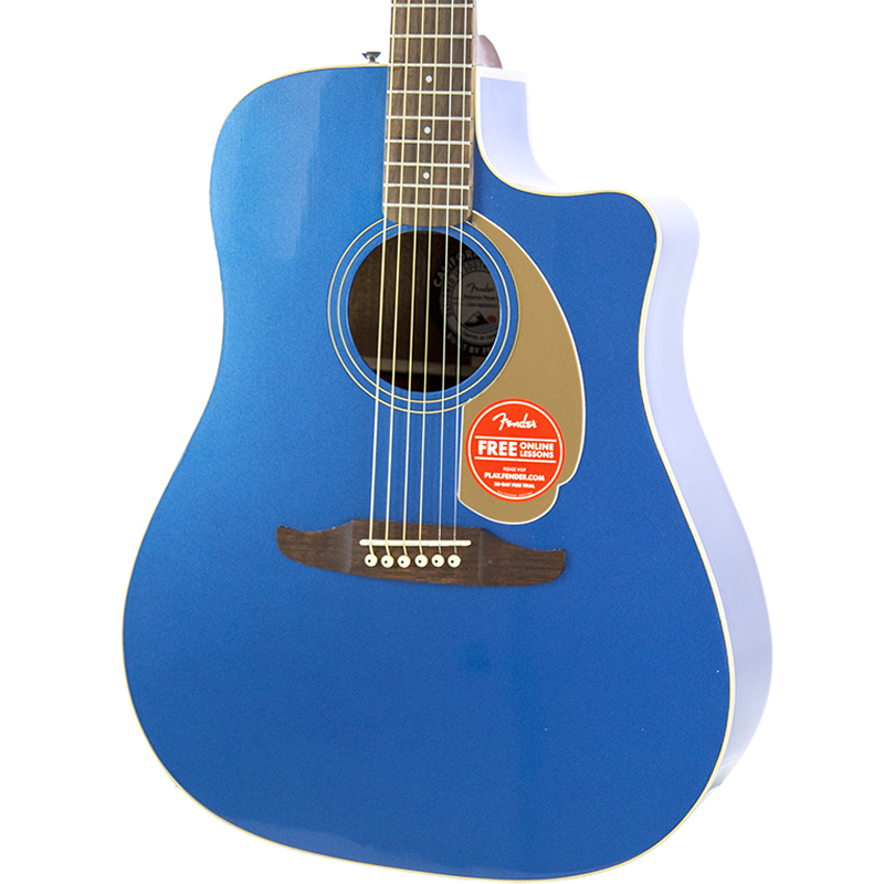 brand new fender redondo player belmont blue acoustic electric guitar new york music emporium. Black Bedroom Furniture Sets. Home Design Ideas