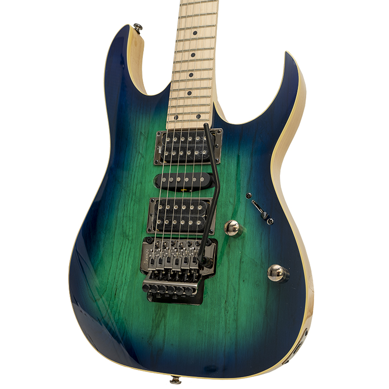 brand ibanez rg470ahm blue moon burst electric guitar new york music emporium. Black Bedroom Furniture Sets. Home Design Ideas