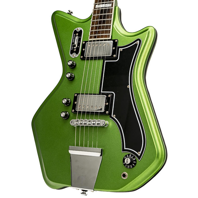 used eastwood airline 59 2p electric guitar satin candy green new york music emporium. Black Bedroom Furniture Sets. Home Design Ideas