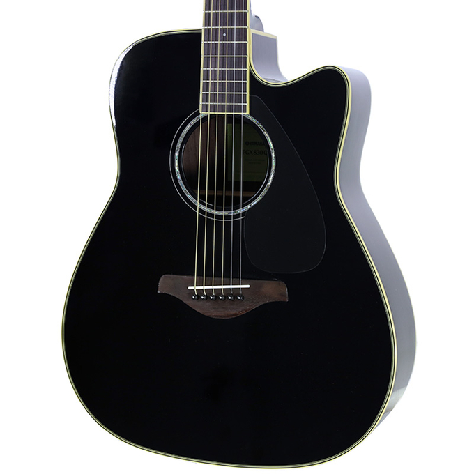 brand new yamaha fgx830c black acoustic electric guitar new york music emporium. Black Bedroom Furniture Sets. Home Design Ideas