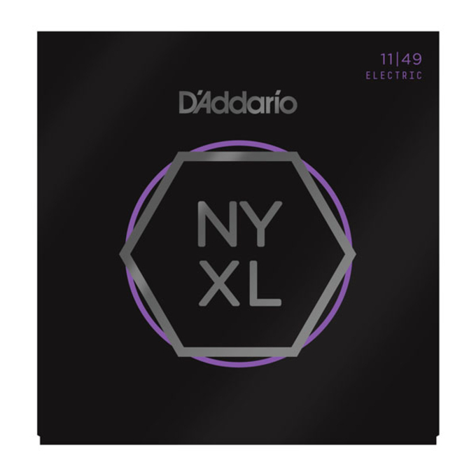 D'Addario NYXL1149 Nickel Wound Electric Strings .011-.049 Medium