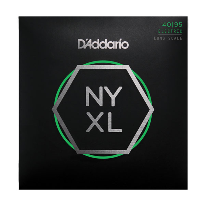 D'Addario NYXL4095 Nickel Wound Bass Strings .040-.095 Super Light
