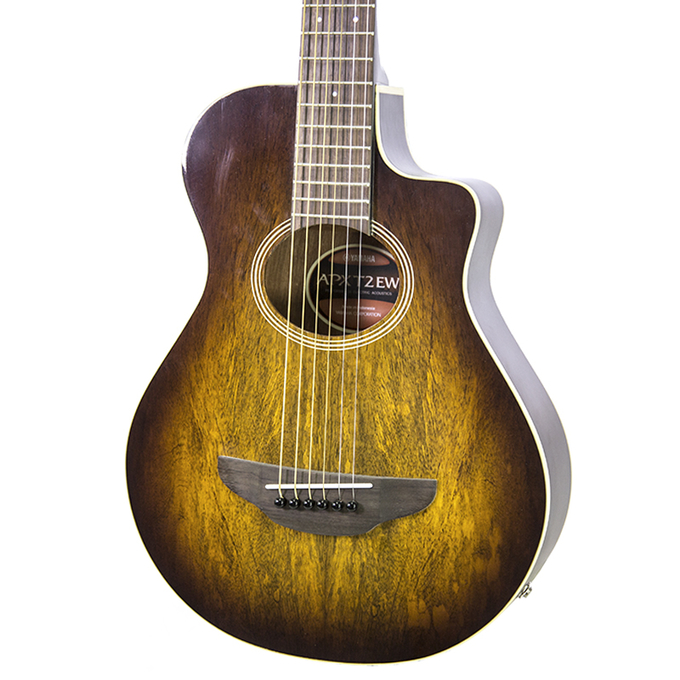 brand new yamaha apxt2ew tobacco brown sunburst acoustic electric guitar new york music emporium. Black Bedroom Furniture Sets. Home Design Ideas