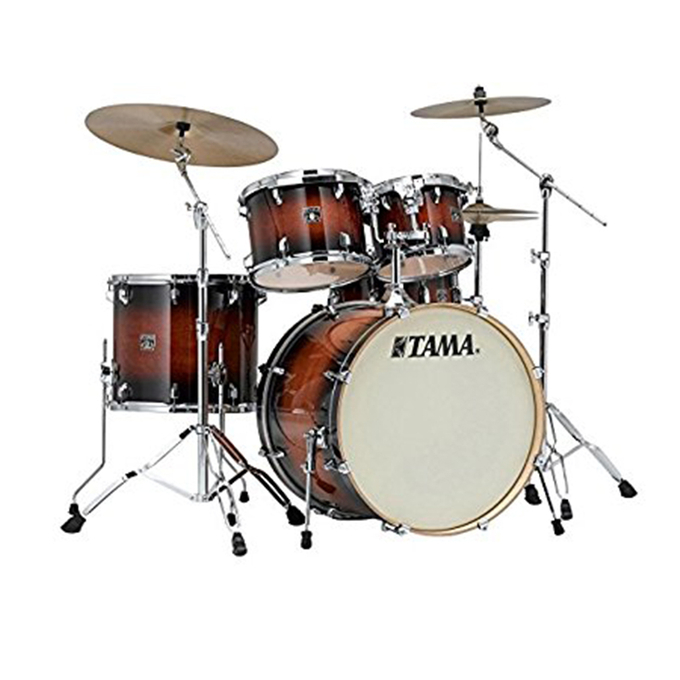 Brand New Tama Superstar Classic 5-piece Shell Pack - Mahogany Burst Lacquer