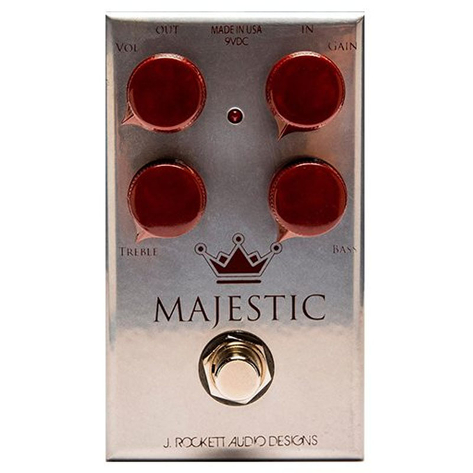 Brand New J. Rockett The Majestic Overdrive Effects Pedal