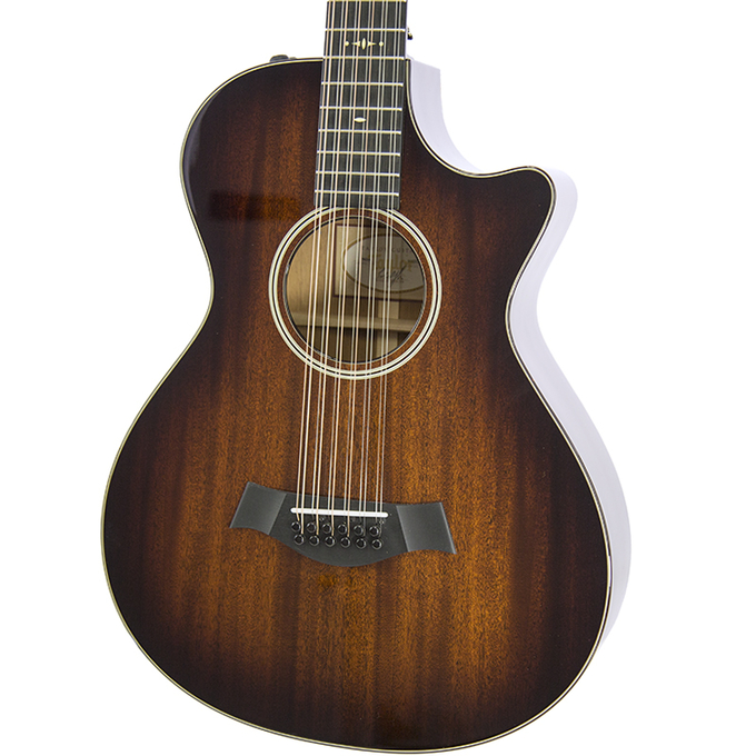 Brand New Taylor 562ce Shaded Edgeburst 12-String Acoustic Electric Guitar