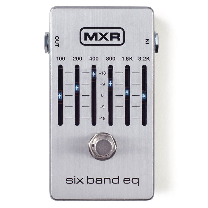 Brand New MXR M109S Six Band EQ Pedal
