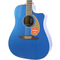 Brand New Fender Redondo Player Belmont Blue Acoustic Electric Guitar