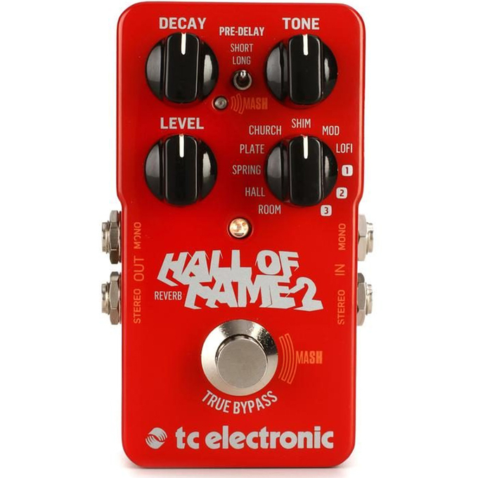 Brand New TC Electronic Hall of Fame 2 Reverb Pedal