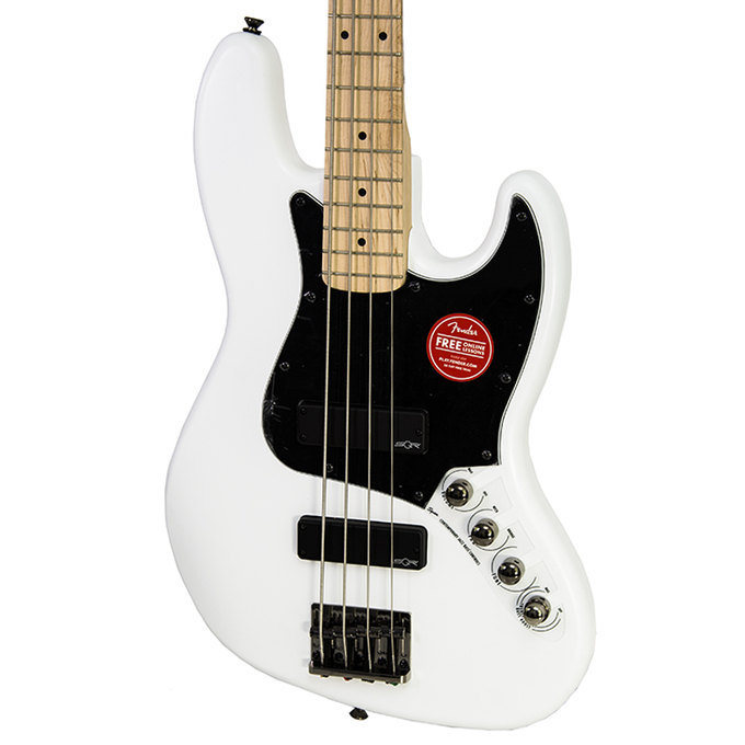 Brand New Fender Squier Contemporary Active White Jazz Bass