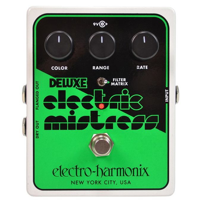 Brand New Electro-Harmonix Deluxe Electric Mistress Analog Flanger Pedal