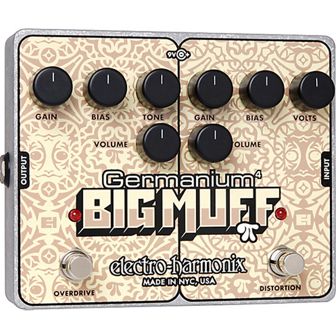 Brand New Electro-Harmonix Germanium 4 Big Muff Pi Distortion / Overdrive Pedal