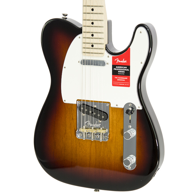 Brand New Fender American Professional Telecaster 3-color Sunburst Electric Guitar