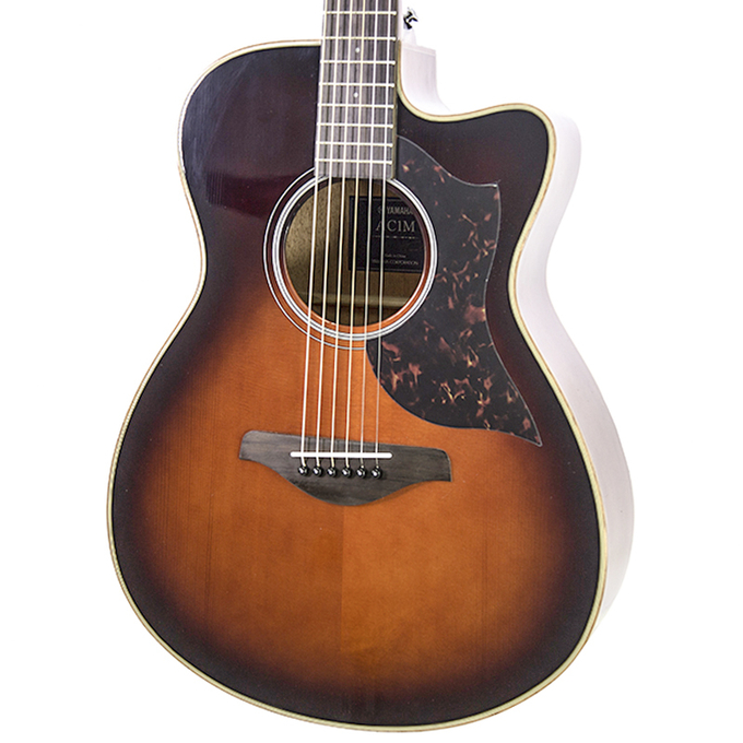 Brand New Yamaha AC1M Tobacco Brown Sunburst Acoustic Electric Guitar #140