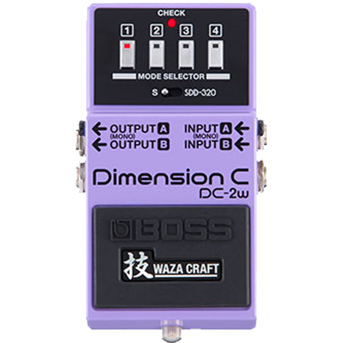 Brand New Boss DC-2W Waza Craft Dimension C Effects Pedal