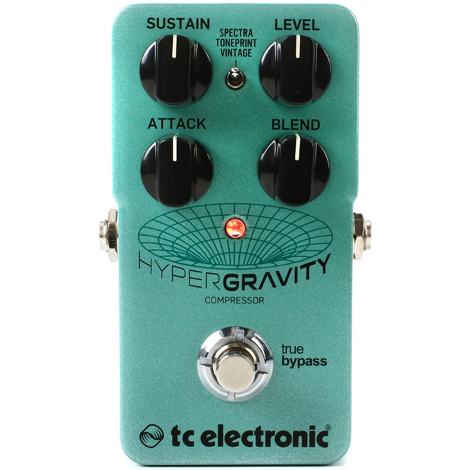 Brand New TC Electronic HyperGravity Compressor Pedal