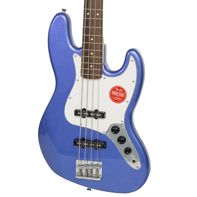 Brand New Fender Squier Contemporary Jazz Bass Ocean Blue Metallic