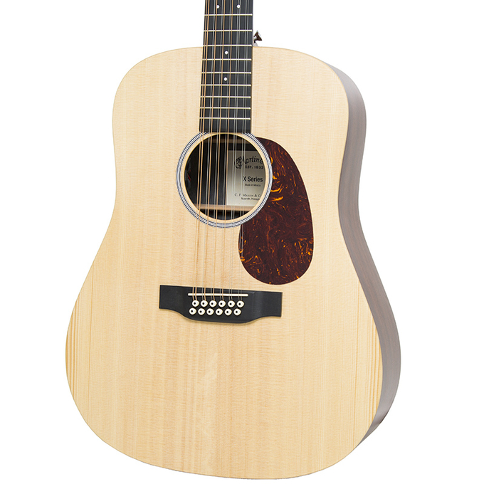 Brand New Martin D12X1AE Natural Acoustic Electric Guitar