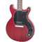 Used 2019 Gibson Les Paul Junior Tribute Doublecut Worn Cherry