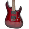 Used Schecter Guitar Research Demon-6 Electric Guitar Crimson Red Burst