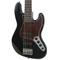 Used 2015 Fender Deluxe Active 5-String Jazz Bass Black