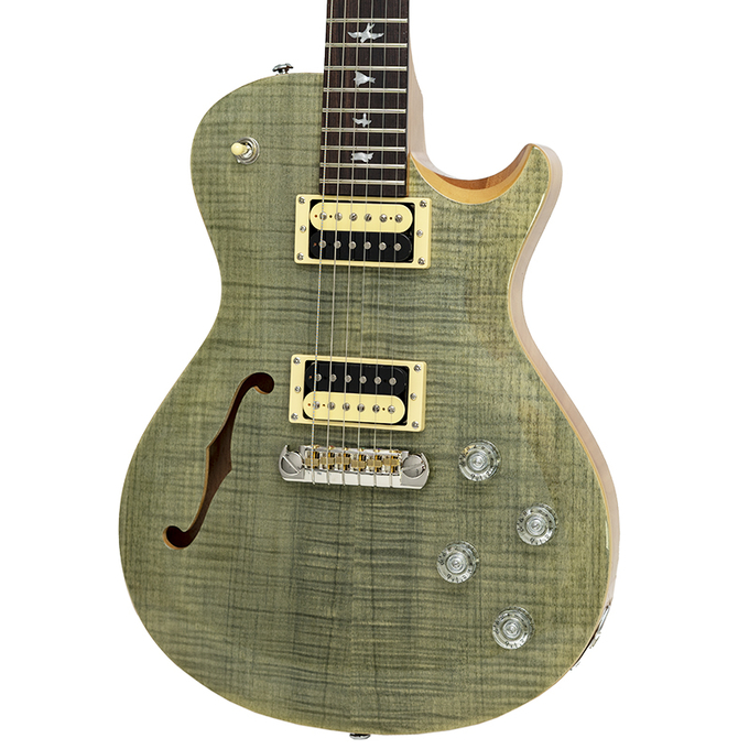 Brand New PRS SE Zach Myers Semi-Hollow Trampas Green #313