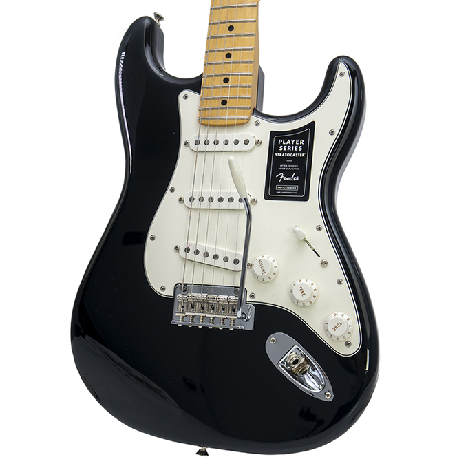 Brand New Fender Player Series Stratocaster Black Electric Guitar