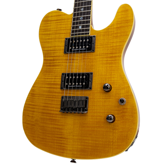 Used Fender Special Edition Custom Telecaster FMT HH Amber