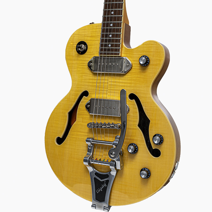 Used Epiphone Wildkat with Bigsby - Antique Natural