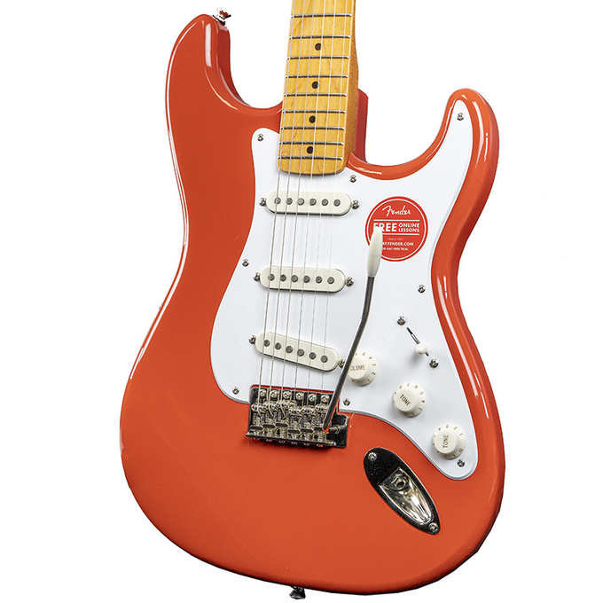 Brand New Fender Squier Classic Vibe 50's Stratocaster Fiesta Red