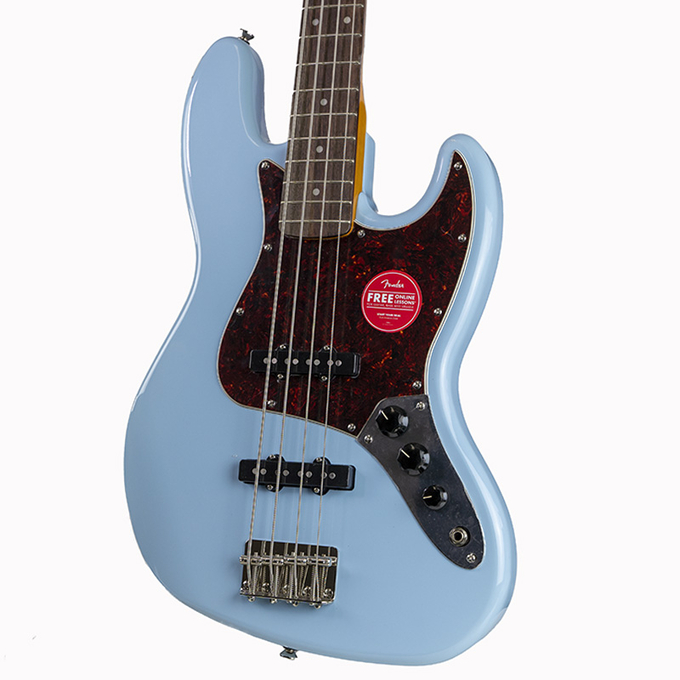 Brand New Fender Squier Classic Vibe '60's Daphne Blue Jazz Bass